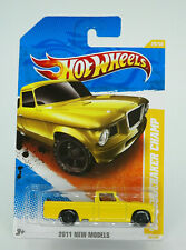 Hot Wheels 2011 New Models '63 Studebaker Champ Yellow Truck New Free Shipping
