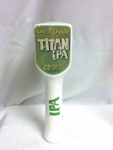 Great Divide Titan IPA beer tapper brewery handle tap taps tappers knob pull J4