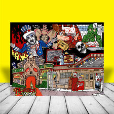 New CAPTAIN SPAULDING House of 1000 Corpses POSTER, sid haig, rob zombie movie