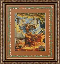 FALL FANTASY FAIRY~COUNTED CROSS STITCH PATTERN ONLY