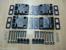 Land Rover Defender Full Front Door Hinge Kit With Stainless Steel Fittings