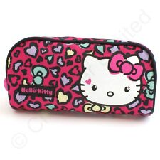 Hello Kitty Sweet Leopard Pencil Case or Make Up bag