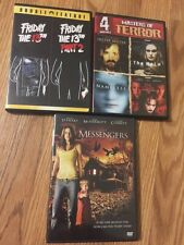Lot of 7 movies total in 3 DVDs terror