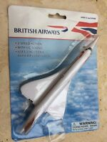 FUNPLANE FPCON64 British Airways CONCORDE model aircraft 205mm long blister pack