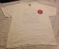 """Oxford Mississippi """"College Town With A Football Problem"""" L Shirt Ole Miss White"""