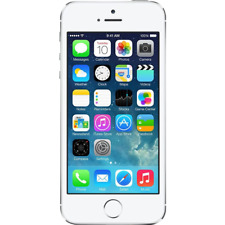 Apple iPhone 5S 16GB White & Silver Factory Unlocked Grade C