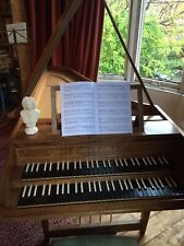 More details for goble two manual harpsichord 1973