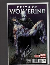 Death of Wolverine 1-4 Comics 2-4 signed by Herb Trimpe Marvel Creator