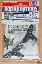 TAMIYA 54562 dt-03 Carbon Damper Stay (Front) (dt03/dt03t), Neuf sous emballage