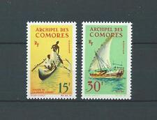COMORES - 1964 YT 33 à 34 - TIMBRES NEUFS* charnière