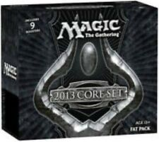 M13 CORE SET 2013 MtG Magic Gathering sealed FAT PACK card Box 9 Booster Packs +