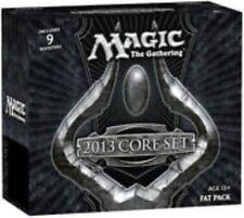M13 CORE SET 2013 MtG Magic Gathering sealed FAT PACK card Box 9 Booster Packs +