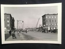 '36 1st Ave & 123rd St Manhattan NYC Old Original Photo RF Postcard Size U193