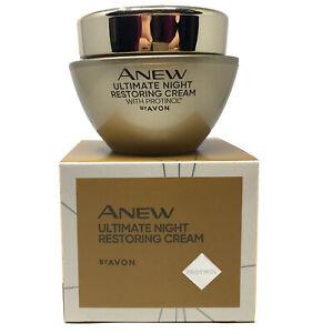 AVON Anew Ultimate Restoring Night Cream with Protinol 50ml - 1.7oz.