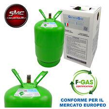 BOMBOLA GAS REFRIGERANTE R134A R134 12 KG 13,6 LITRI CLIMATIZZATORE AUTO