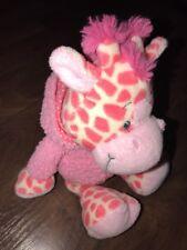 Sugar Kuh Giraffe Kuscheltier Plüschtier Stofftier Rosa Kapuze Pink Blume Shirt