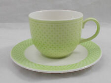 Villeroy & and Boch TIPO GREEN 0144 espresso cup and saucer UNUSED