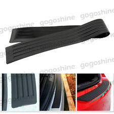"35"" Rear Bumper Guard Protector Trim Cover Sill Plate Trunk Twindoor Pad Kit"