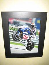 Jorge Lorenzo - MotoGP - Excellent Framed Signed Photograph (8x10)