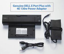 dell docking replicator e port plus pr02 e6420 e6430 k09a cy640 + pa-4e adapter