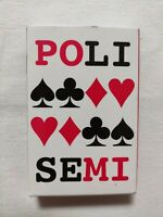CARTE DA GIOCO POLI SEMI MODIANO POKER PLAYING CARDS ORIGINAL MADE IN ITALY