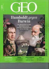 GEO Magazin, Heft 11|2019: Humboldt gegen Darwin  +++wie neu +++