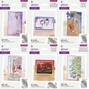 *NEW 2021* Gemini Create A Card Christmas Scene Edge'ables by Crafters Companion