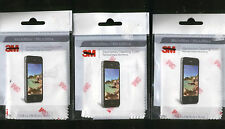 3M MICROFIBER CLEANING CLOTH 3 PACK COMPUTER TABLETS IPHONE IPAD LAPTOP CAMERA