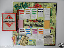 Wooden Monopoly Board & Traditional Games