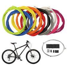 DE Fahrrad Bremszug Bremszughülle Schaltzughülle Bowdenzug Komplett Kabel Set