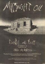 6/5/89Pgn02 Advert: Midnight Oil New Album 'diesel And Dust' On Cbs 15x11