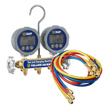 Yellow Jacket 46062 Series 41 Digital Manifold with Compact Valve Hoses