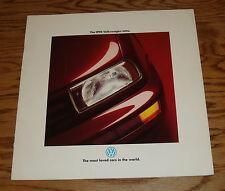 Original 1994 Volkswagen VW Jetta Deluxe Sales Brochure 94