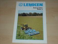 47468) Lemken Rotorgrubber Rubin 9 Prospekt 03/2004