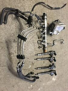 VW CRAFTER 2.0 DIESEL FUEL PUMP high pressure COMMON RAIL SET INJECTORS SYSTEM