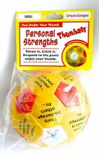 PERSONAL STRENGTHS THUMBALL PERBAL Social/School/Therapy Game Youth Light >NEW<