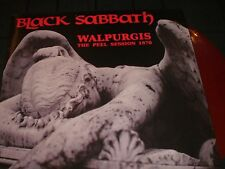 BLACK SABBATH  Walpurgis  color vinyl   LP unplayed