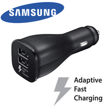 OEM Samsung Adaptive Fast Charge Dual USB Car Charger For Galaxy S8 S9 S10 Note9