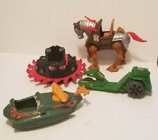 Vintage He-Man MOTU Masters of the Universe Wind Raider Road Ripper Parts Lot