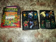 teenage mutant collector case with figures and accessories extras