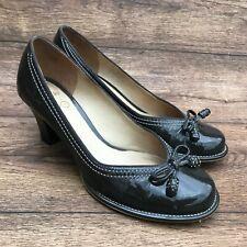Clarks Chorus Bombay bleu marine en cuir chaussures femmes//Talons Tailles 4.5//37.5 8//42 D