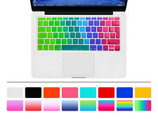 """French AZERTY Silicone EU Keyboard Cover Skin For Macbook Pro 13 A1708 12"""" A1534"""