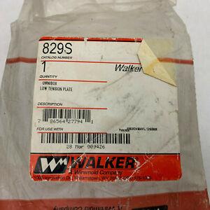 Walker 829S NIB Opened Brass Omnibox Floor plate See Pics #B6