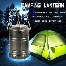 Camping Lantern Portable Collapsible 30 LED Hiking Night Light Lamp Flashlights