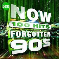 NOW 100 Hits Forgotten 90s - Five Madness [CD] Sent Sameday*