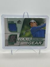 New listing 2021 UPPER DECK SP GAME USED GOLF TOUR GEAR PGA MAVERICK McNEALY