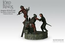 Sideshow Aragorn Vs Uruk-Hai Wall's Of Helm's Deep Diorama 179/750 Lotr Rotk