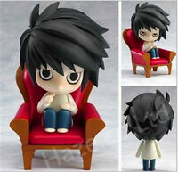 "NENDOROID Death Note Detective L Scene 4"" PVC Action Figure Model Toy Gift"