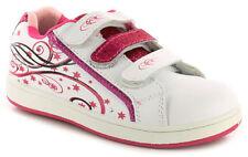 Scarpe casual bianco in pelle per bambine dai 2 ai 16 anni