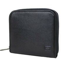 NEW YOSHIDA  PORTER PLUME WALLET 179-03868 Black With tracking From Japan